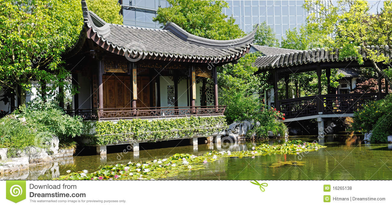 Chinese Garden In Portland Oregon Royalty Free Stock Photos Image 16265138