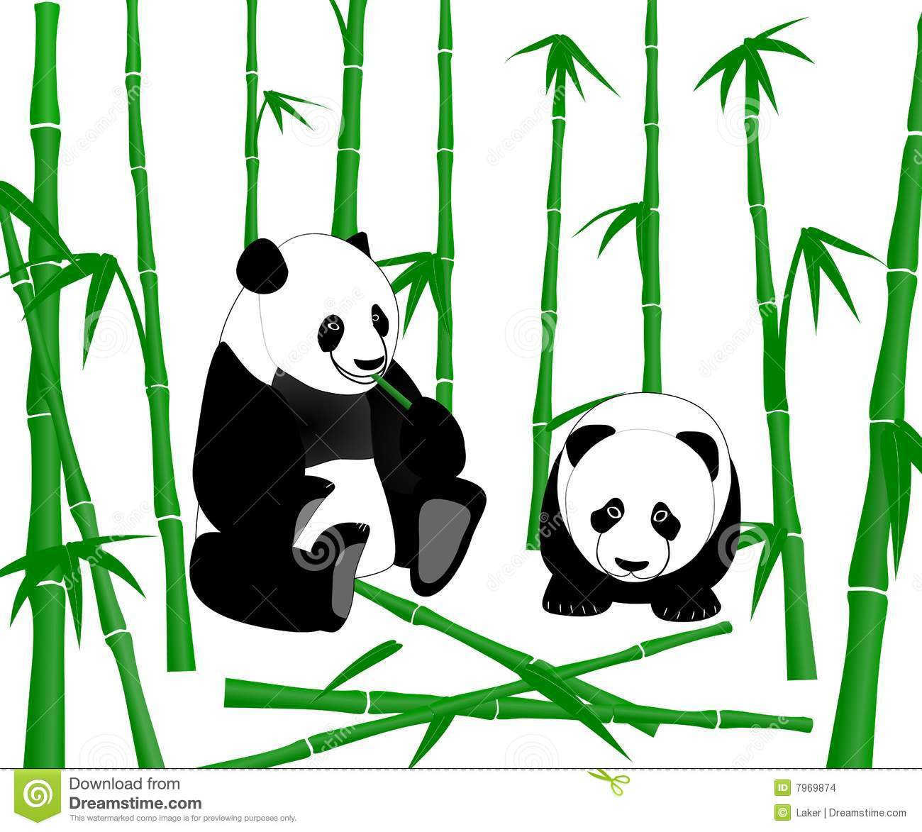 Stock Images Chinese Giant Panda Eating Bamboo Shoots Image7969874 on Flower Pie Chart