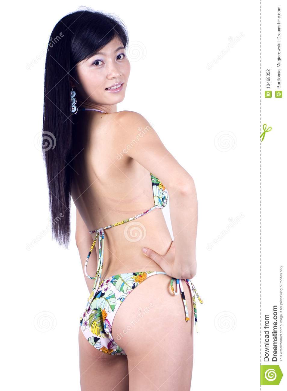 bikini Chinese asian girl