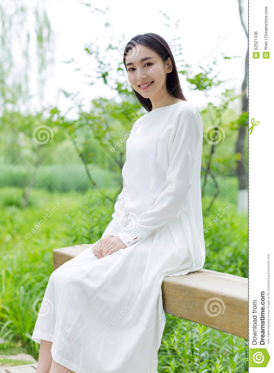 Chinese White Gown