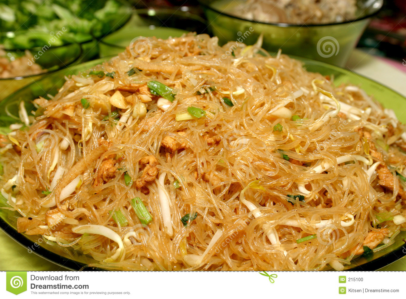 Chinese glass noodles