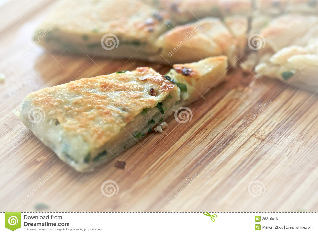 Chinese Pancakes With Green Onion Recipe — Dishmaps