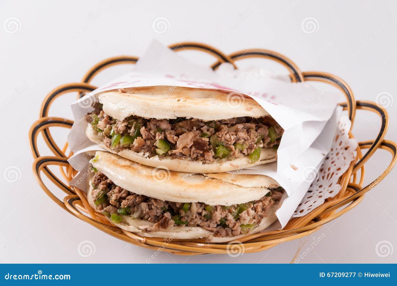 Chinese hamburger, Shaanxi-kenmerk