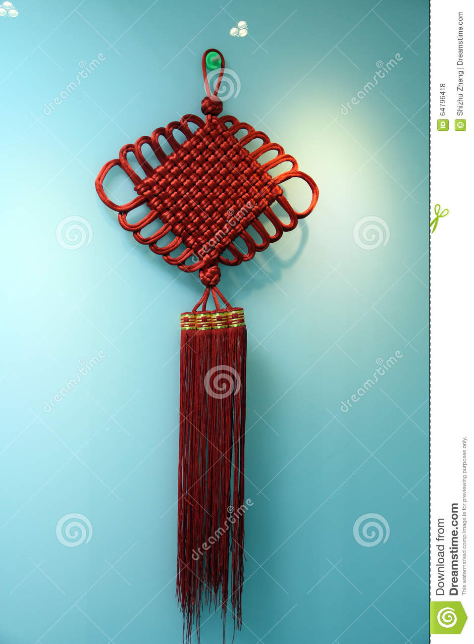 Chinese Handicrafts Chinese Knot Stock Photo Image Of Symbol