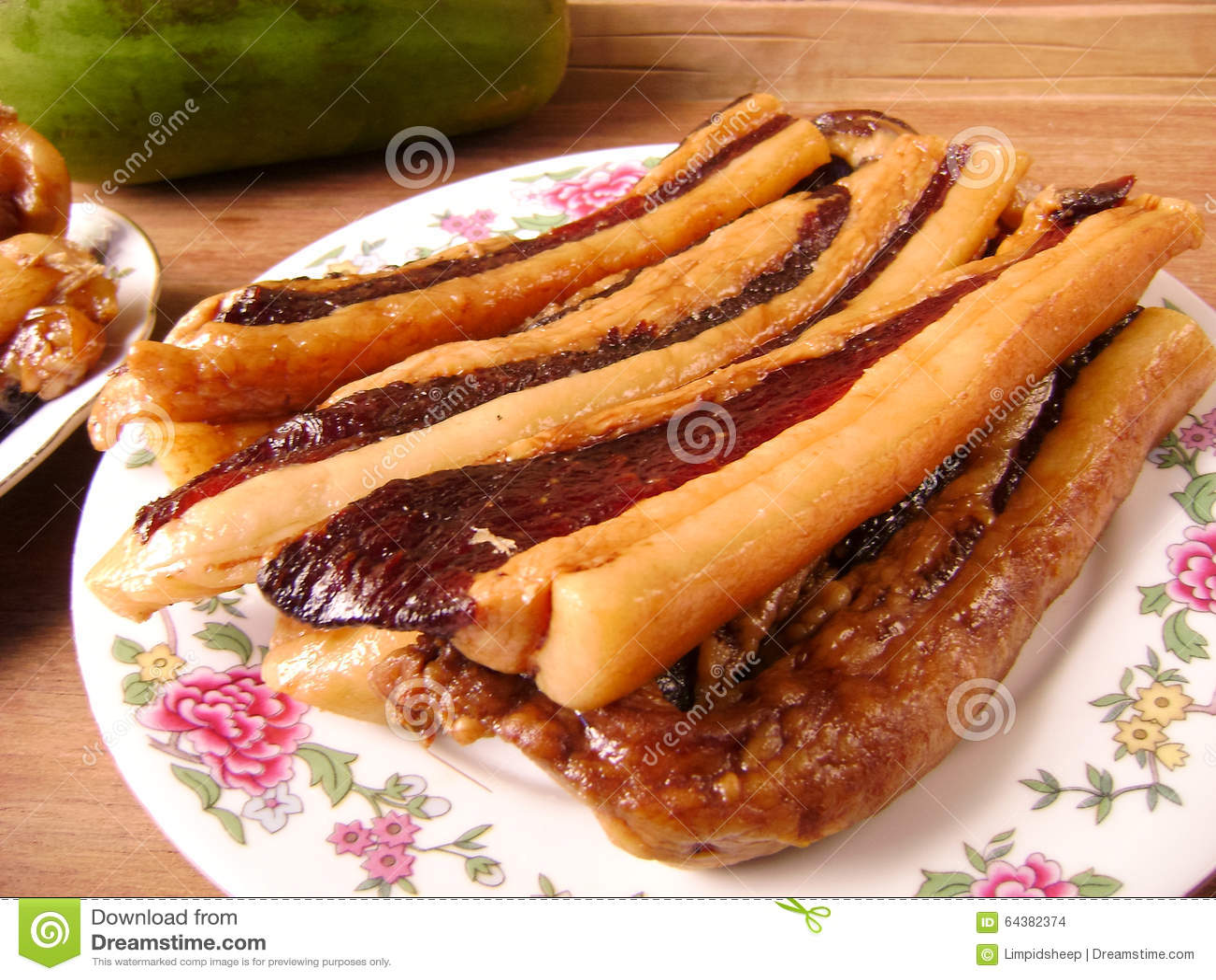 Chinese het baconplakken van de varkensvleesbuik