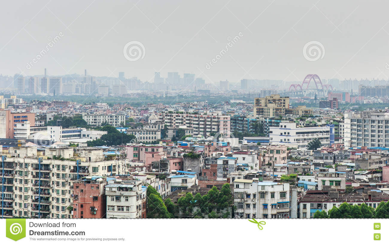 Chinese Housing Blocks stock photo  Image of asian, estate