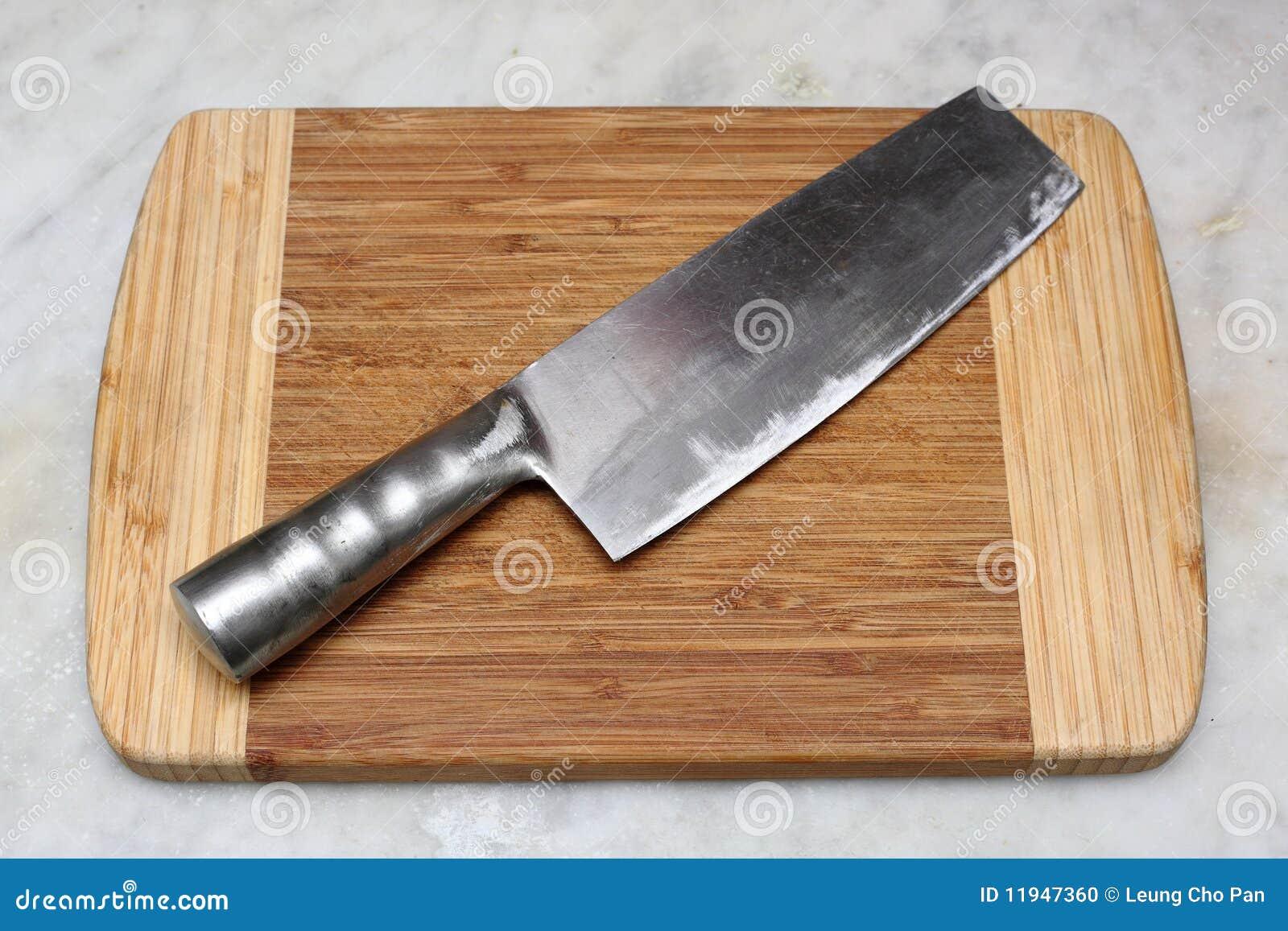 Chinese Kitchen Knife Stock Photo Image Of Utensil