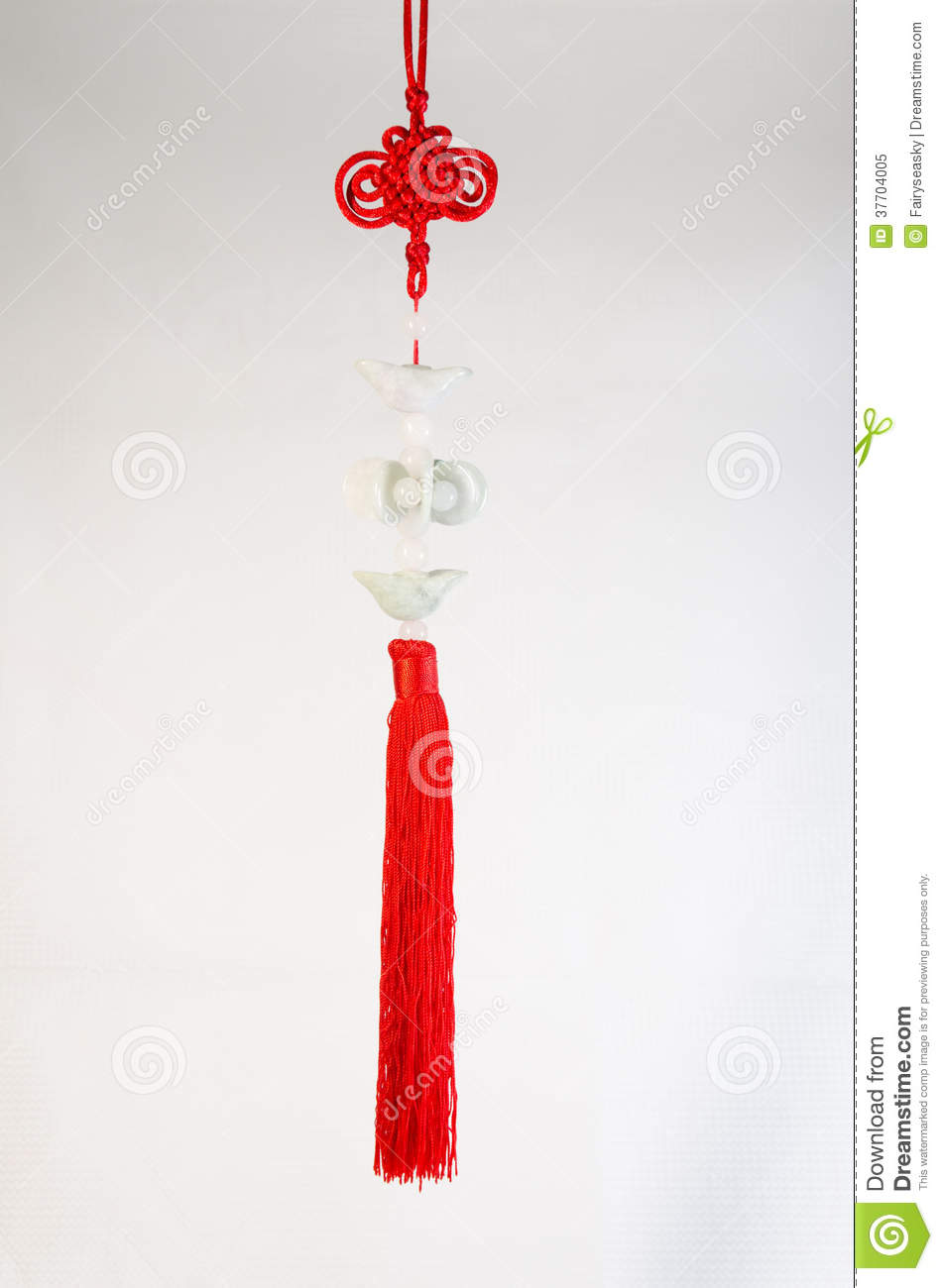 Chinese Knot With Jade Stock Image Image Of Chinese 37704005