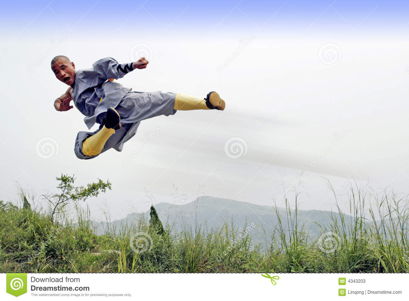 Download Chinese kung Fu stock image. Image of attack, cold, famous - 4343203