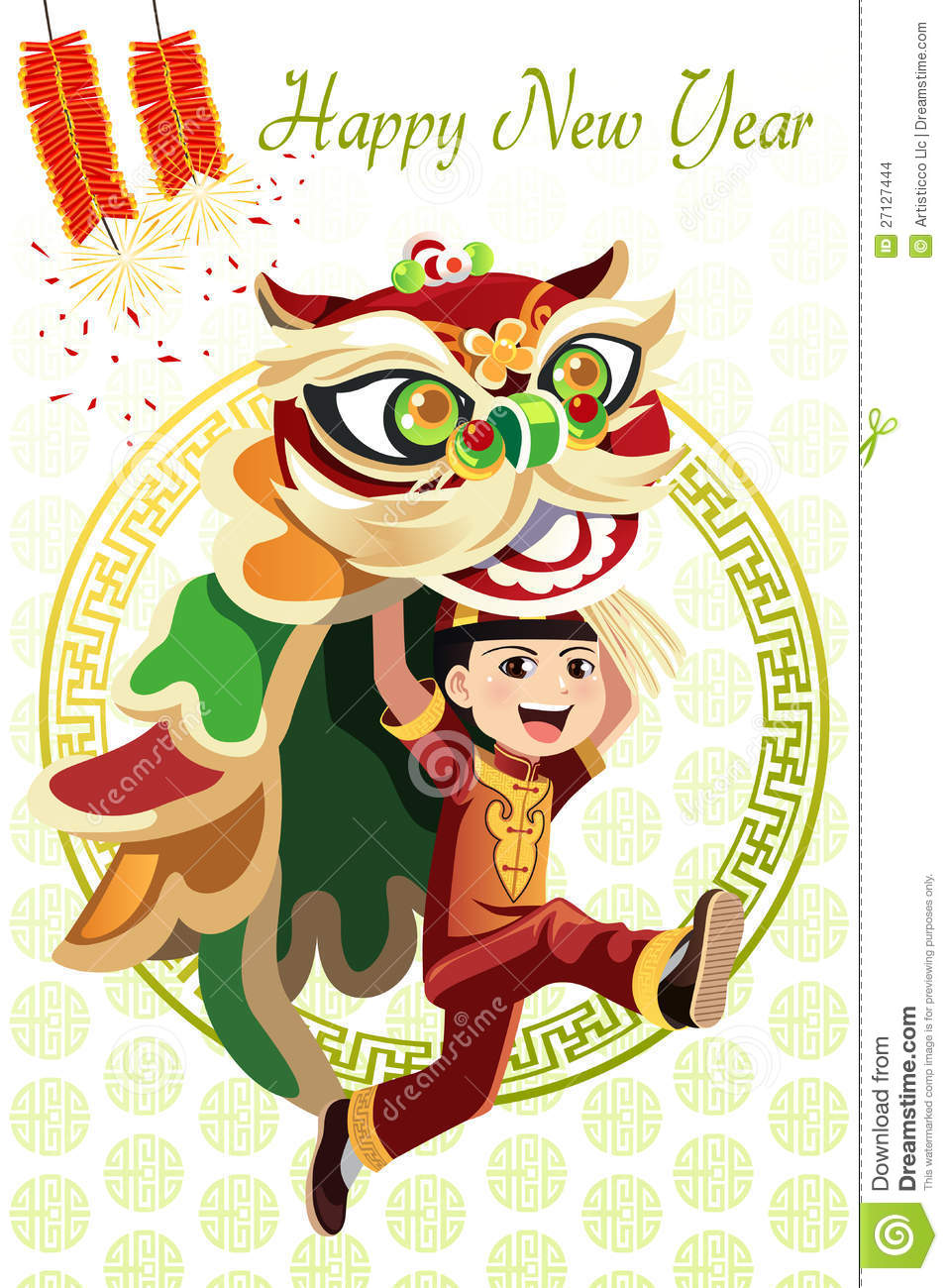 Chinese lion dance – coreldraw vectors cdr free download | free.