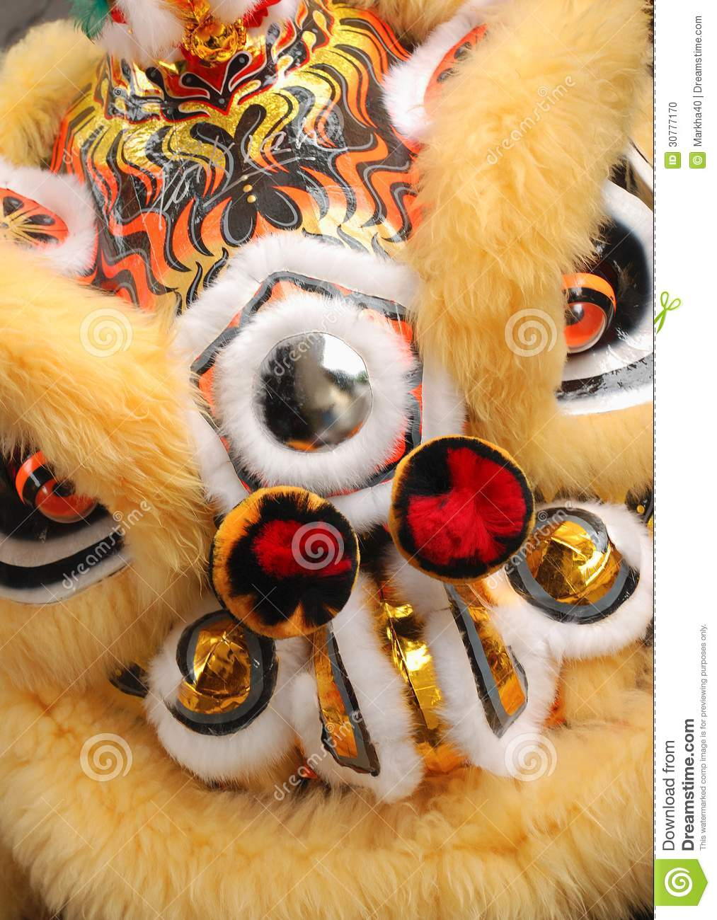 how to make a chinese new year lion head