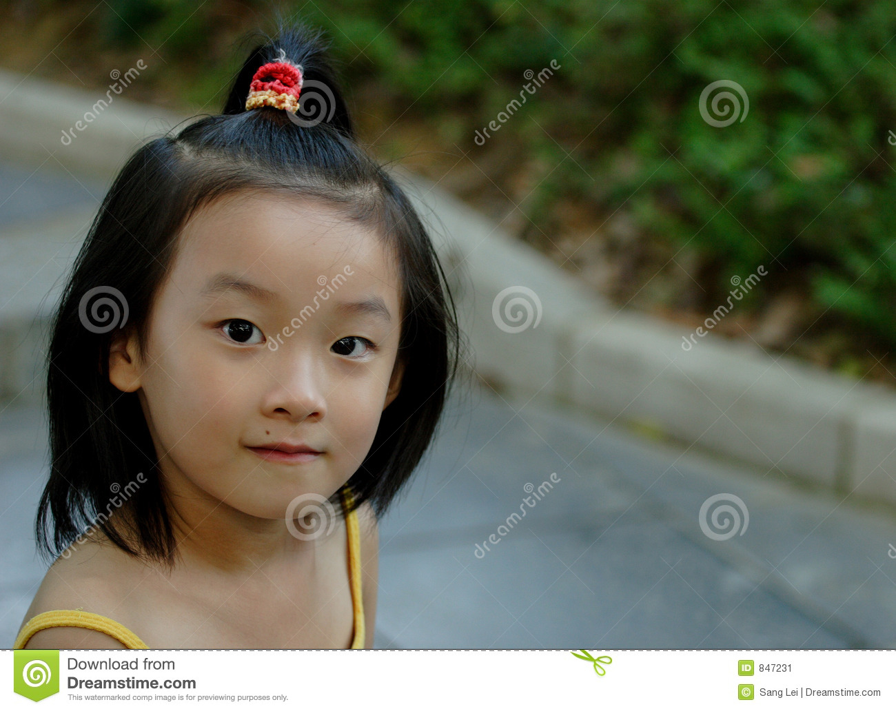 chinese little child cute