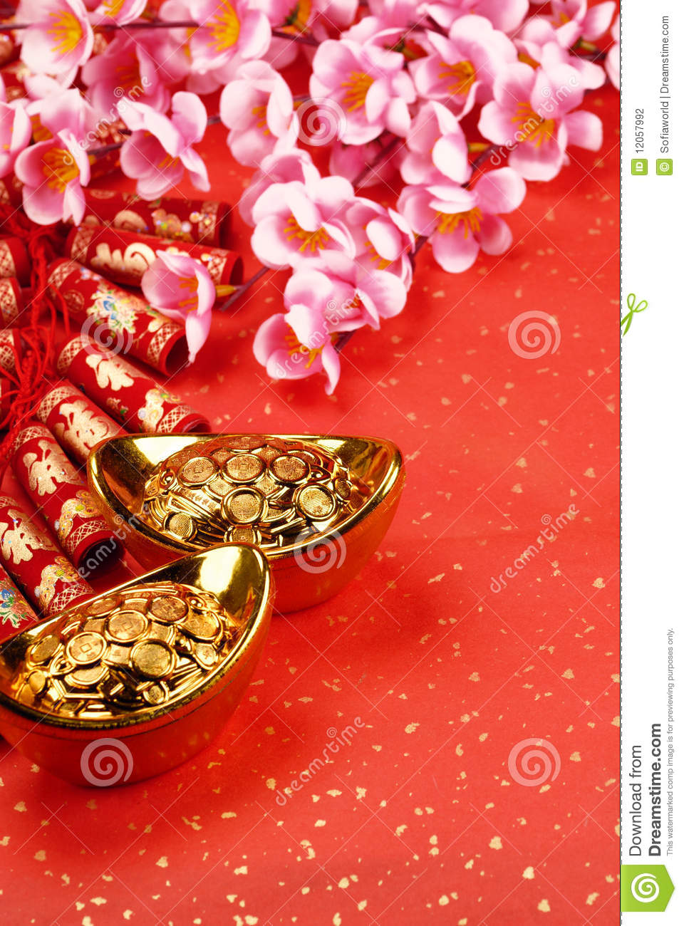 Chinese lunar new year decoration stock photography - Lunar new year decorations ...
