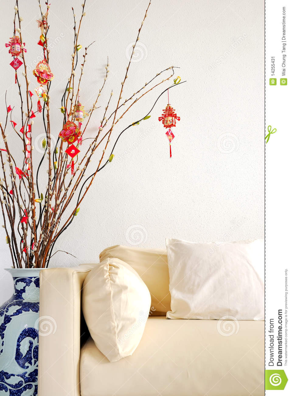 Chinese lunar new year decoration stock image image - Lunar new year decorations ...