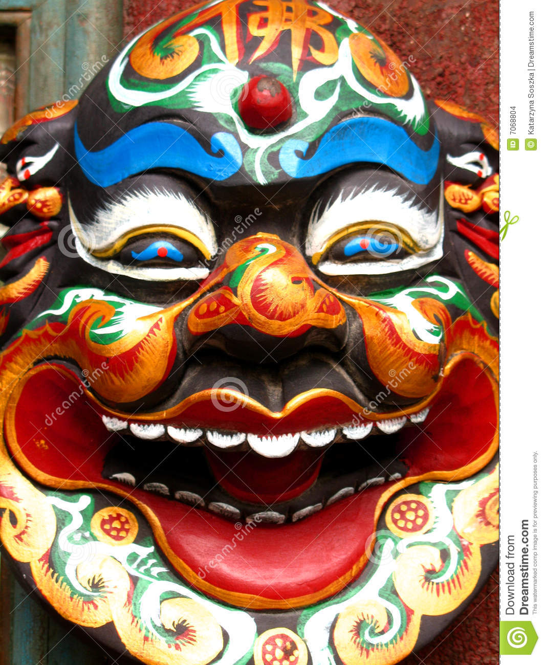 chinese mask stock images