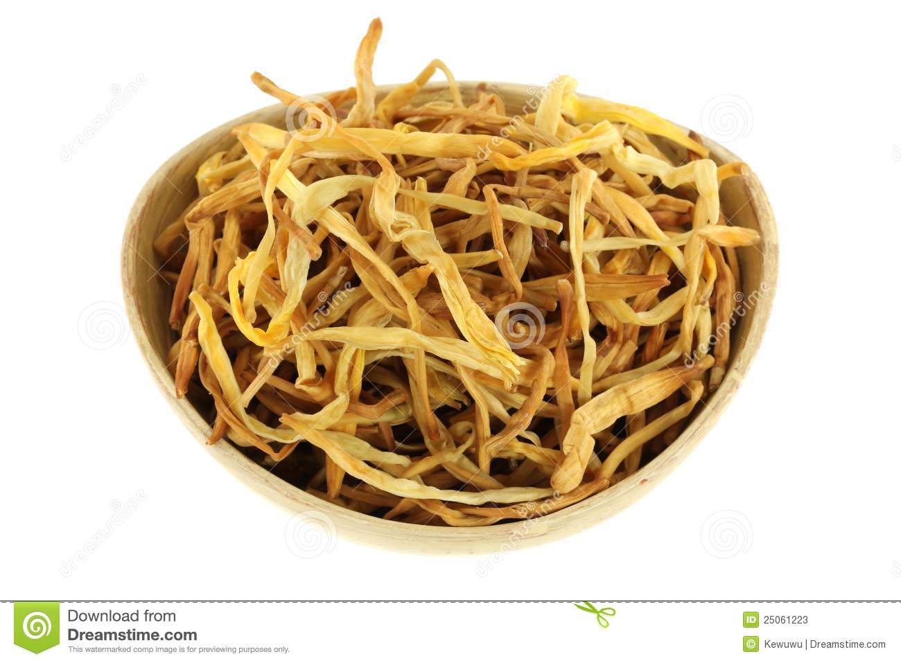 Chinese medical herb a bowl of dried lily buds stock image image chinese medical herb a bowl of dried lily buds izmirmasajfo