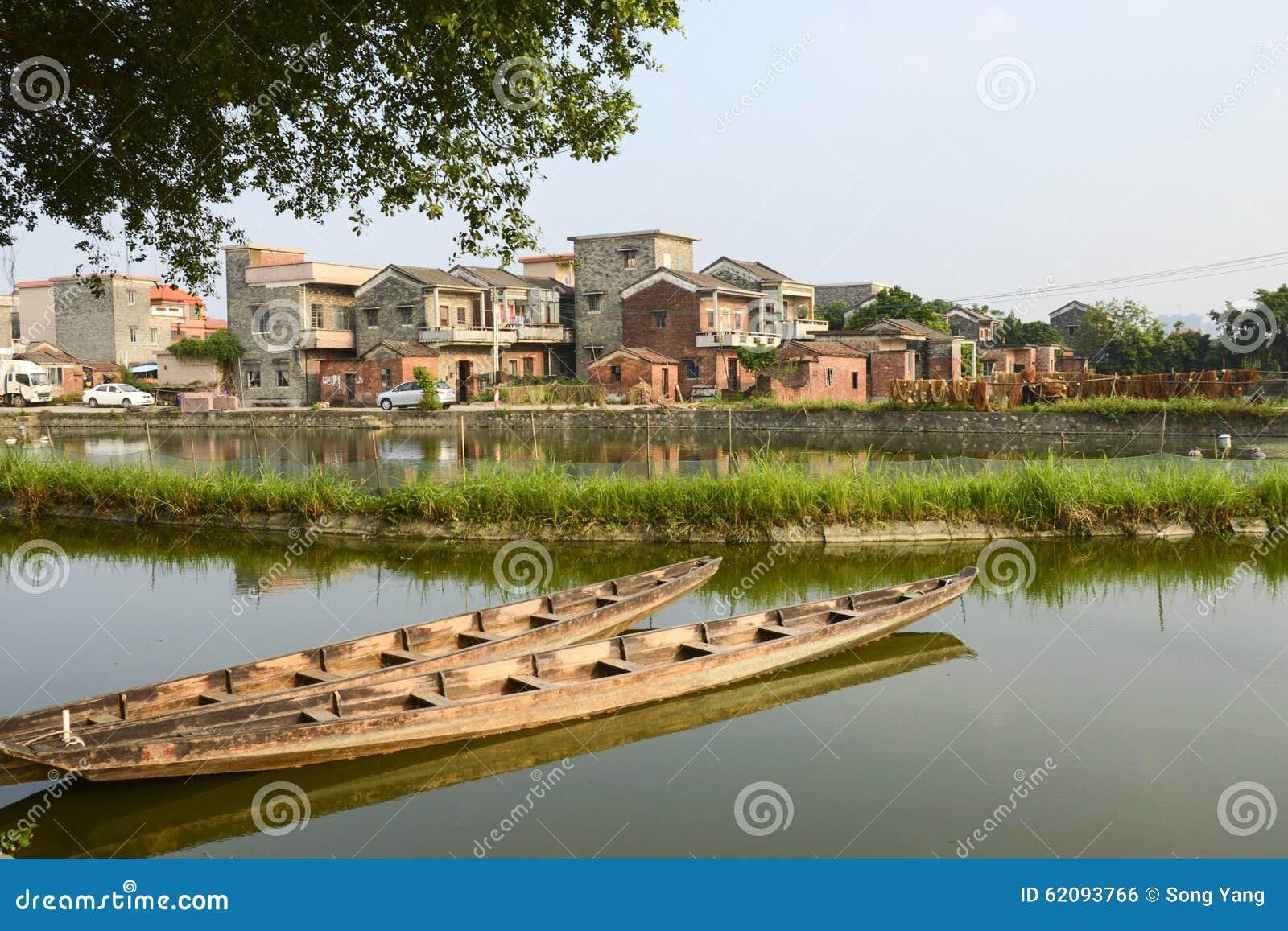 Chinese modern village stock photo Image of asia village 62093766