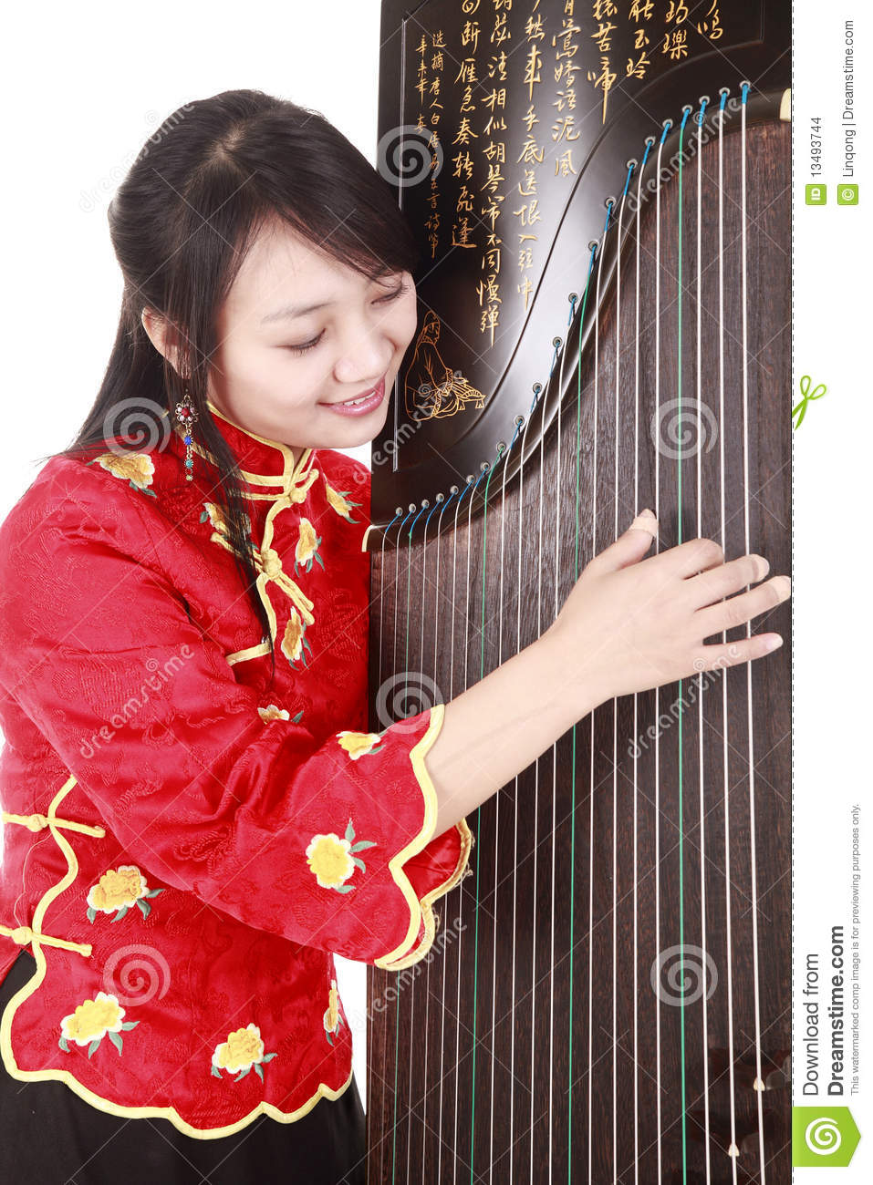 chinese musician stock images image 13493744