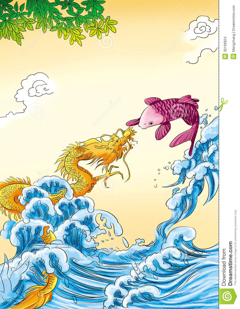 Fish in Chinese mythology
