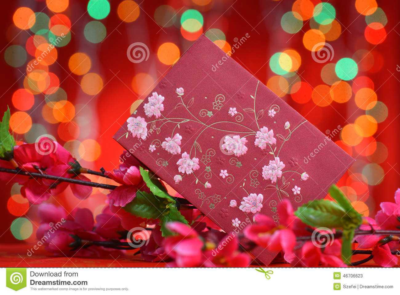 Chinese new year ang pow stock photo image 46706623 for Ang pow packet decoration