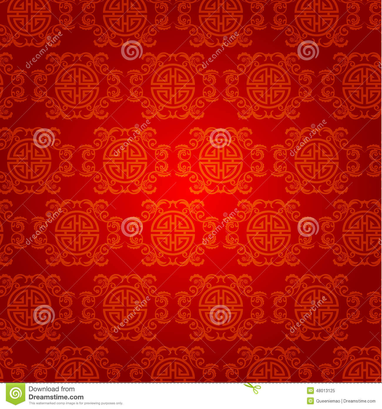 Download Chinese New Year Background Vector Design Stock Illustration