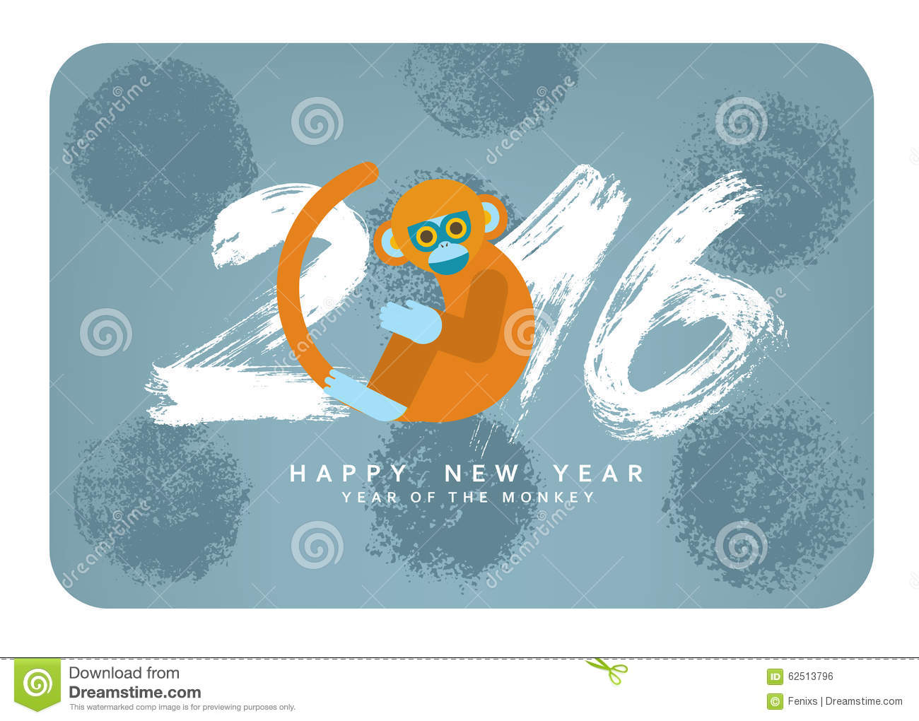 Chinese new year card with cute cartoon monkey symbol of 2016 chinese new year card with cute cartoon monkey symbol of 2016 biocorpaavc