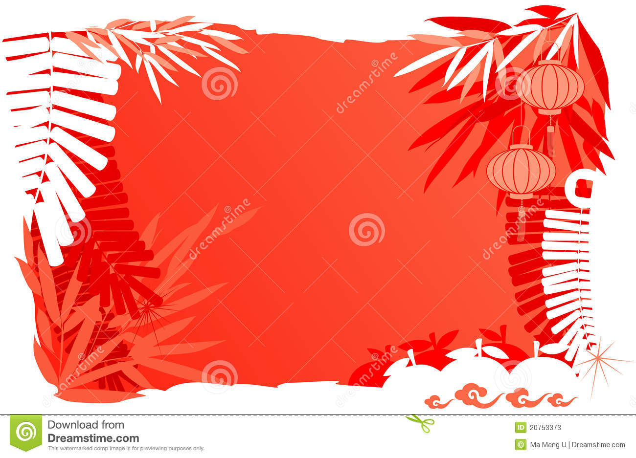 Chinese New Year Day - Abstract background