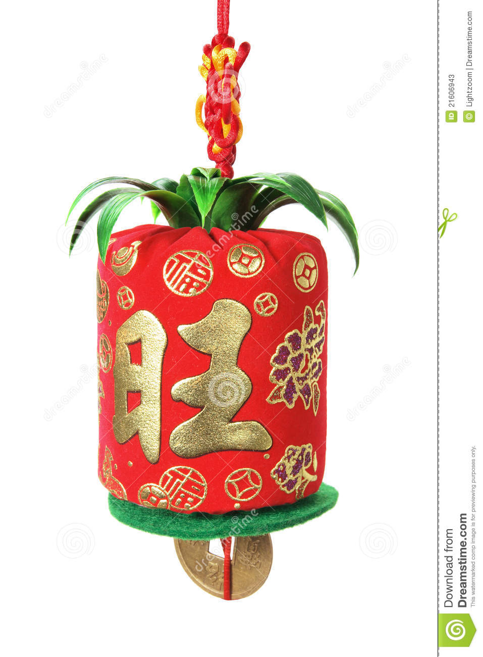 Chinese new year decoration stock photos image 21606943 for Decoration new year