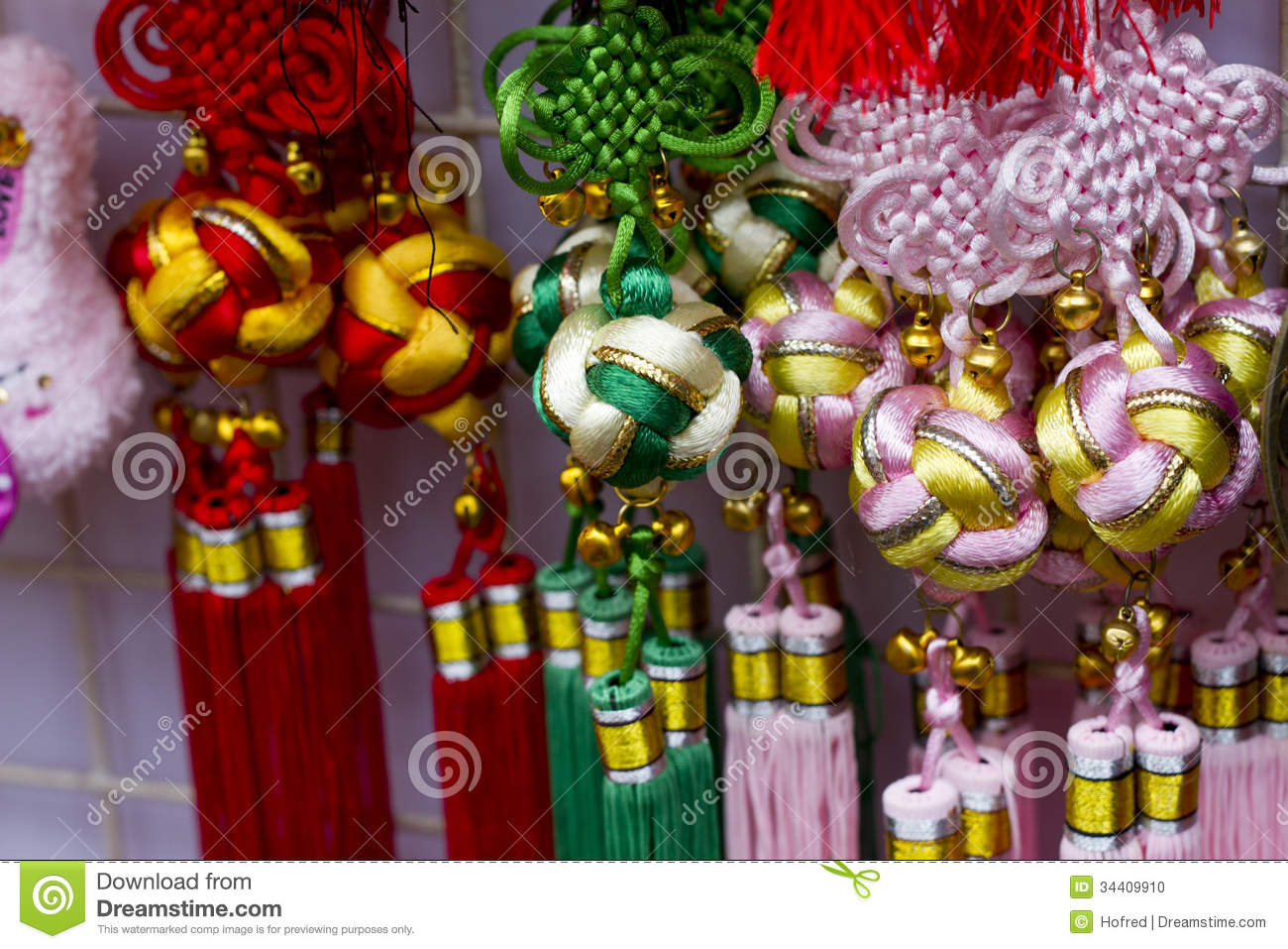 Chinese new year decoration stock photo image 34409910 for Decoration new year