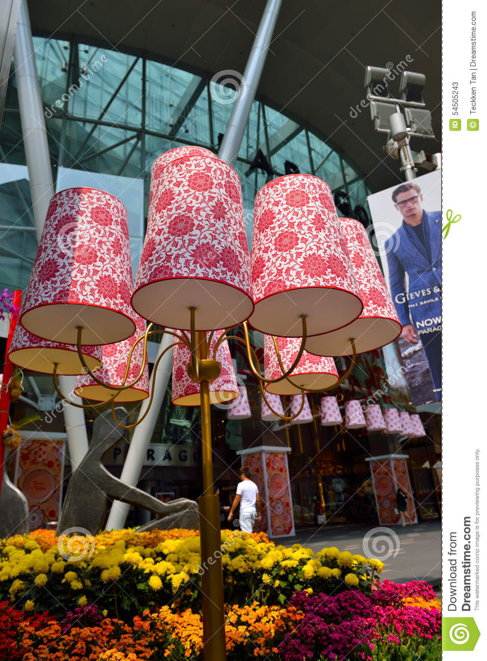 Chinese new year decoration editorial stock photo image - Lunar new year decorations ...