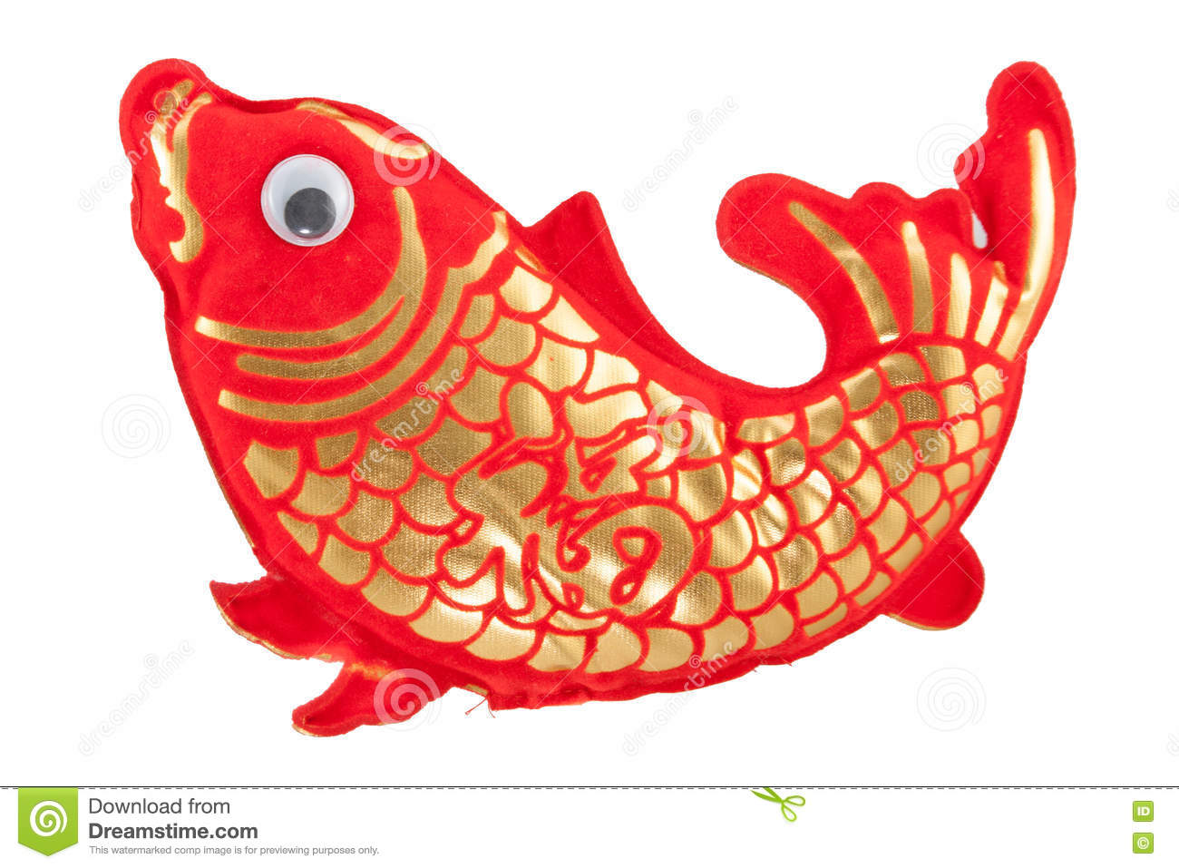 Chinese New Year Fish Ornaments For Decoration Stock Image ...