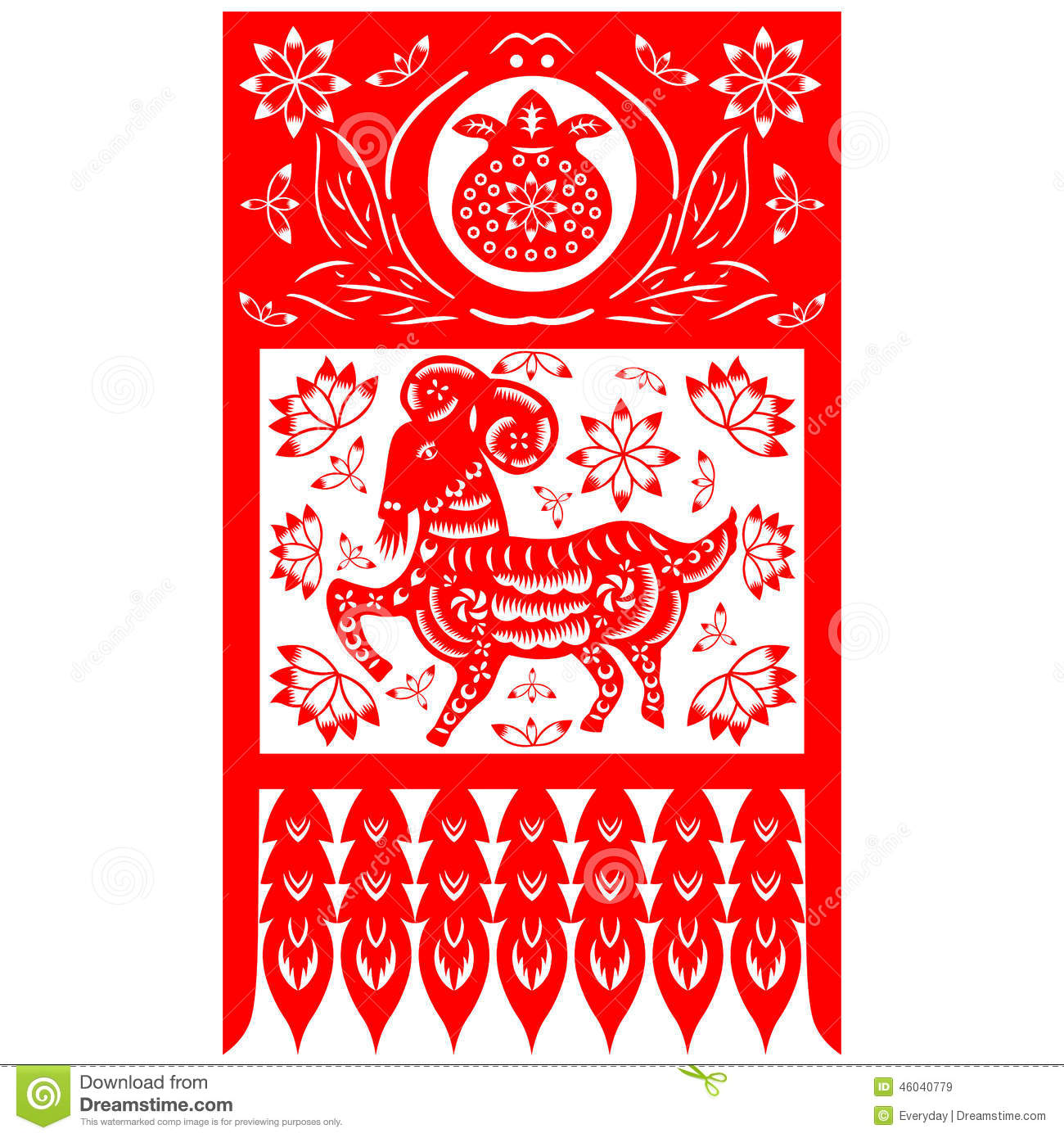 Chinese Year Of The Goat Craft