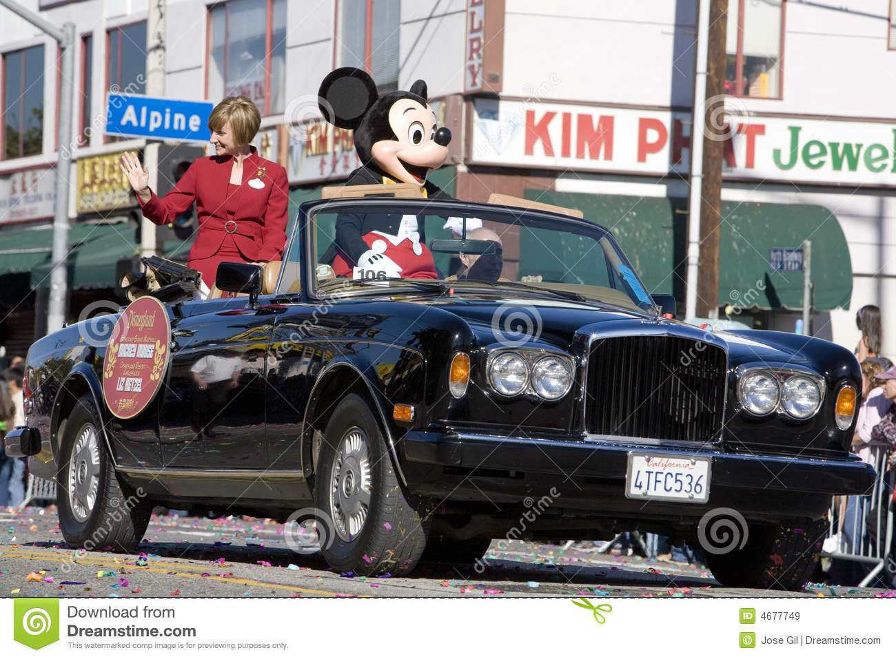 Chinese New Year Grand Marshall Mickey Mouse