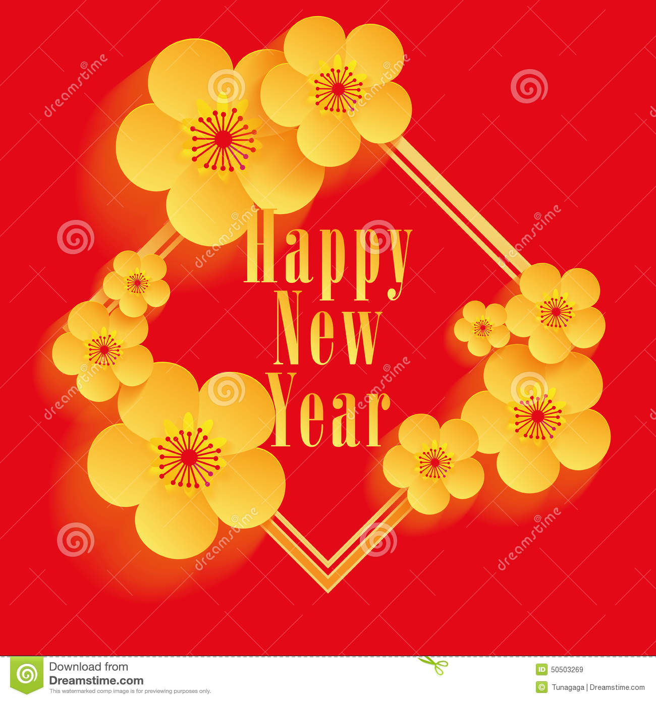 chinese new year greeting card design