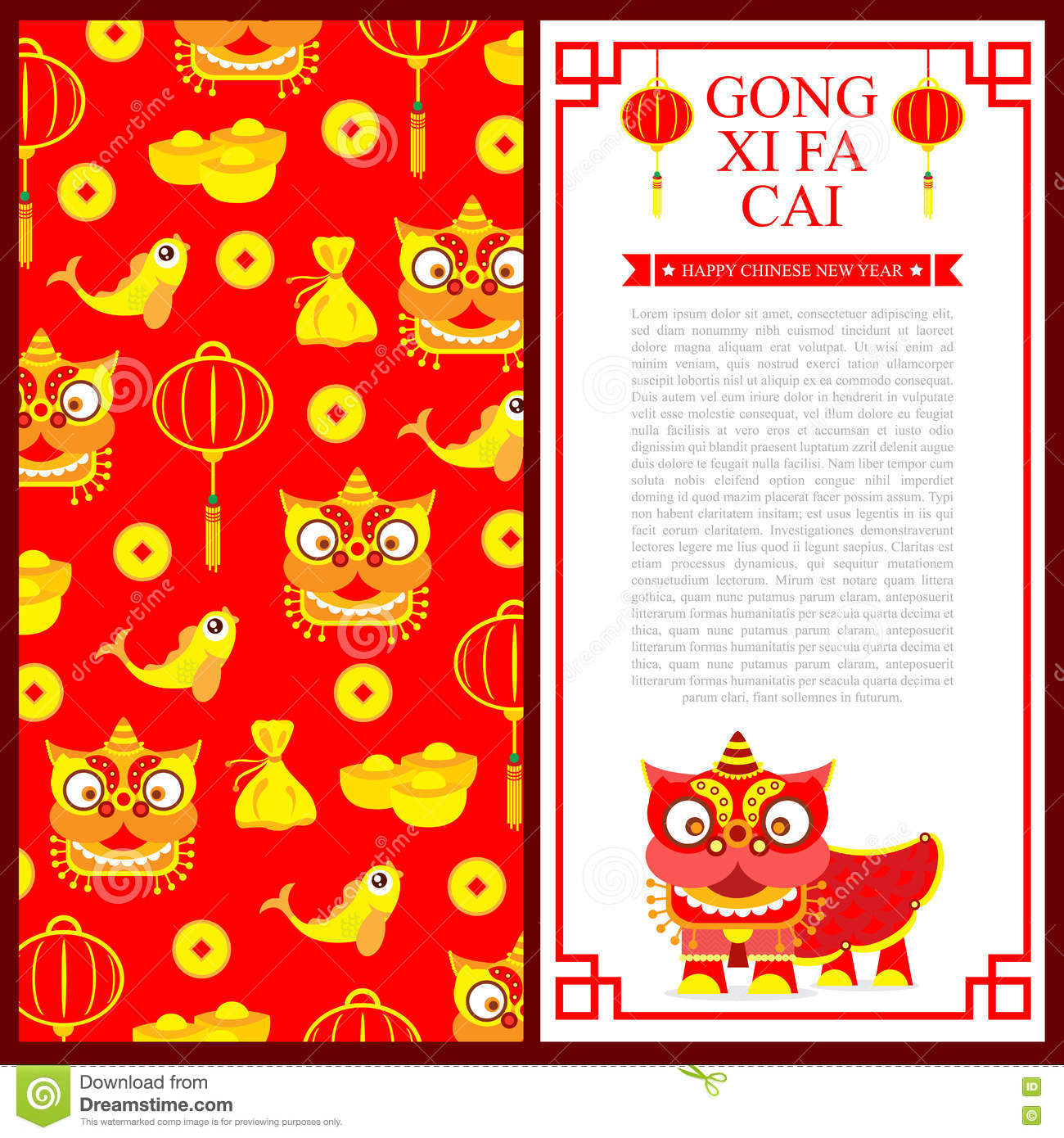 Chinese new year invitation card stock vector illustration of download chinese new year invitation card stock vector illustration of birthday fortune 78299059 stopboris Gallery