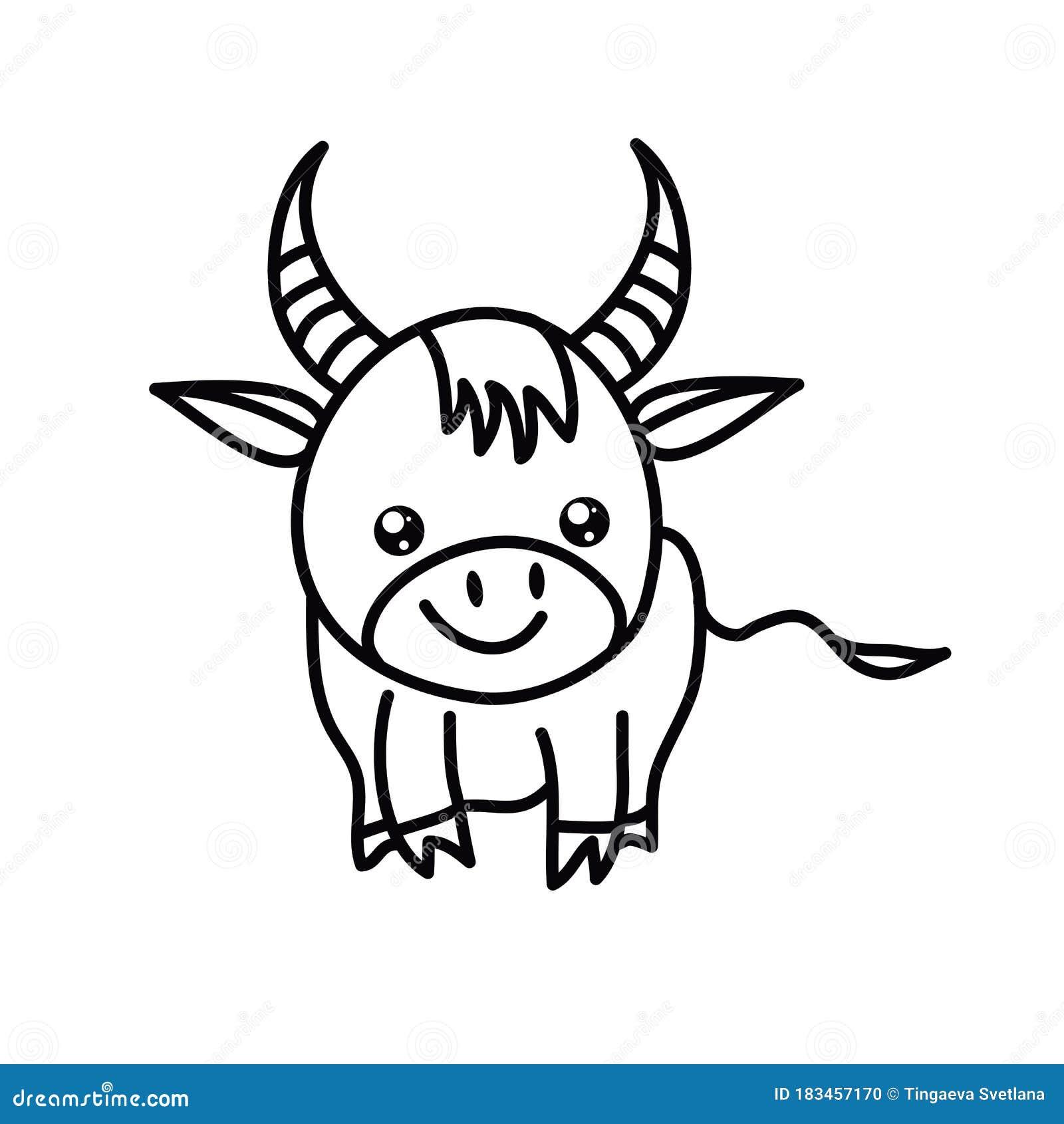 Chinese New Year Kawaii Zodiac Animals Clipart Stock ...