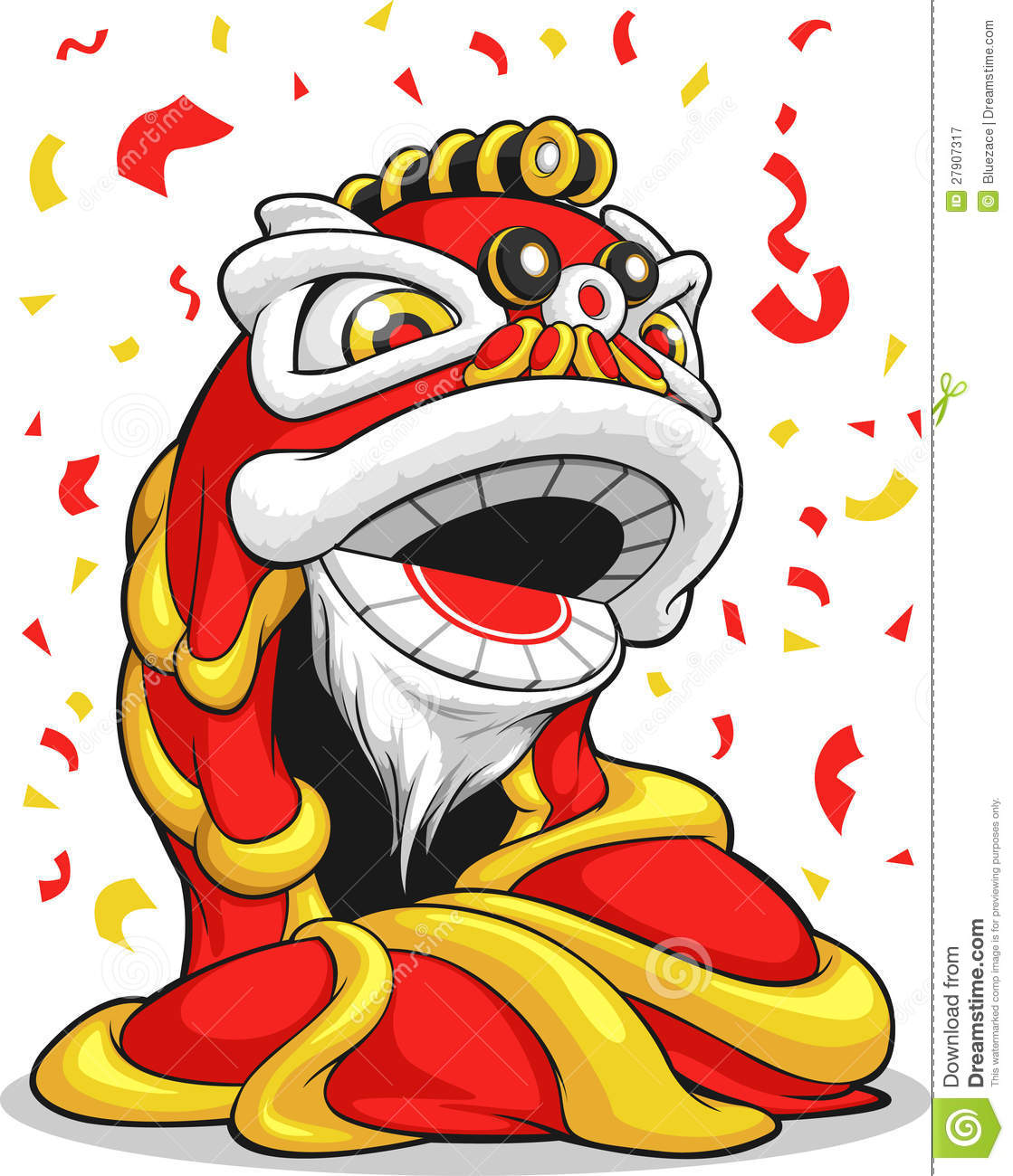Chinese New Year Lion Royalty Free Stock Photography Image 27907317