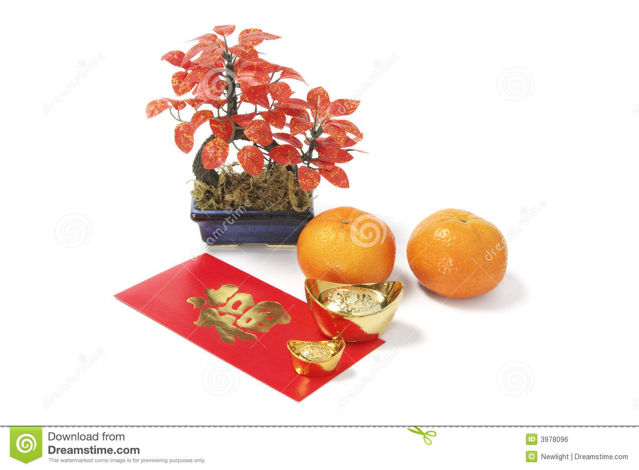 Chinese New Year Lucky Symbols Stock Photo Image Of Envelope Luck