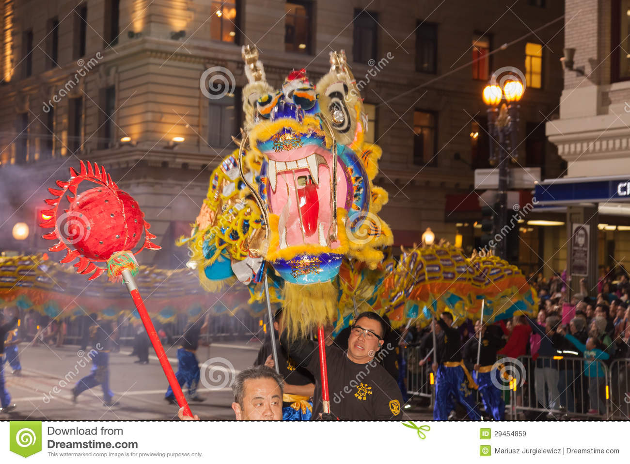Chinese new year parade in chinatown editorial stock image for Chinese new years parade