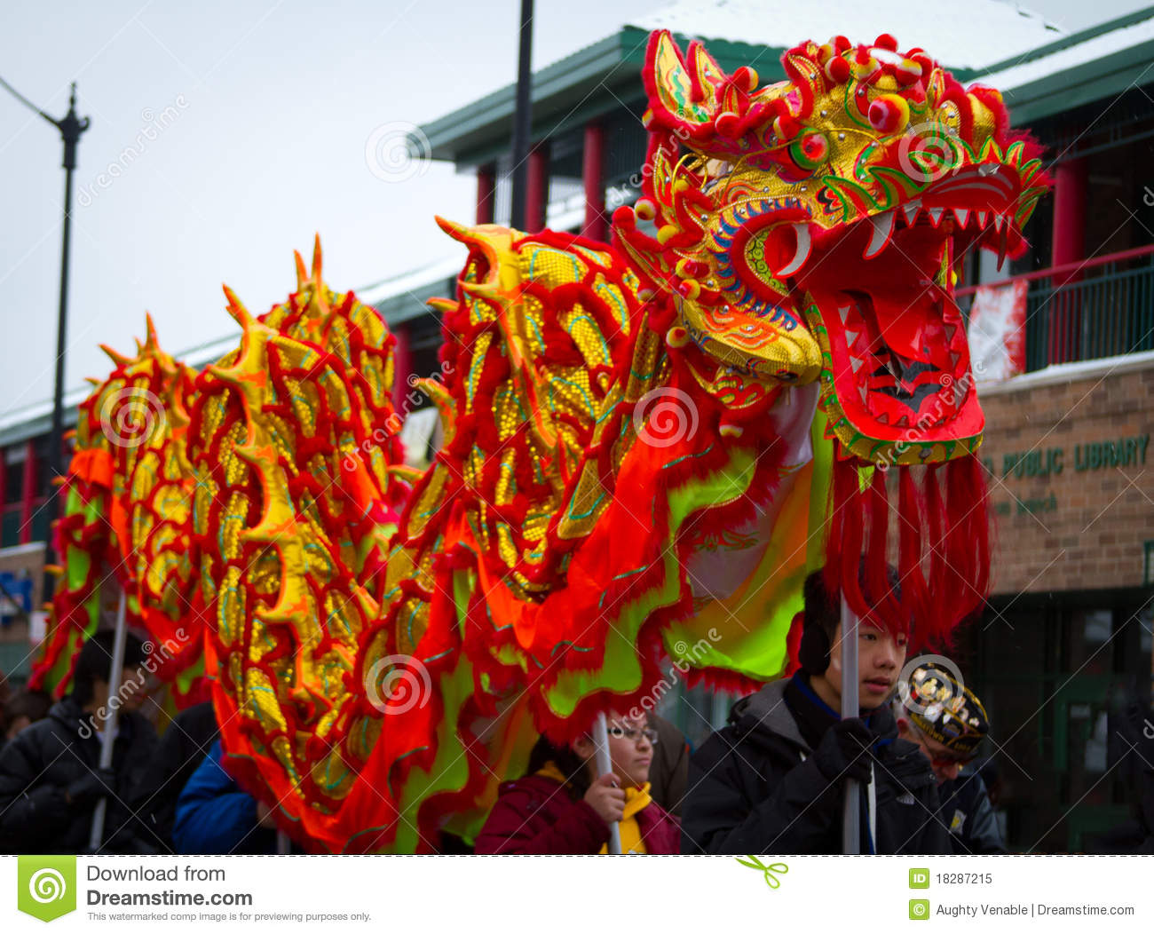 Chinese new year parade dragon editorial image image of for Chinese new years parade