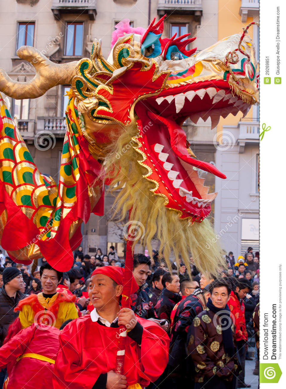 Chinese new year parade in milan editorial photo image for Chinese new years parade