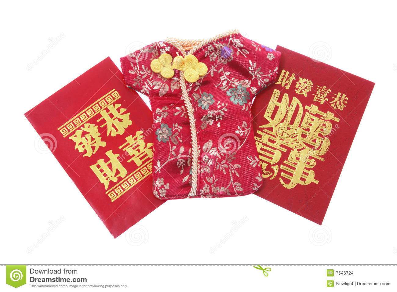Chinese New Year Red Packets Stock Photo - Image of ...