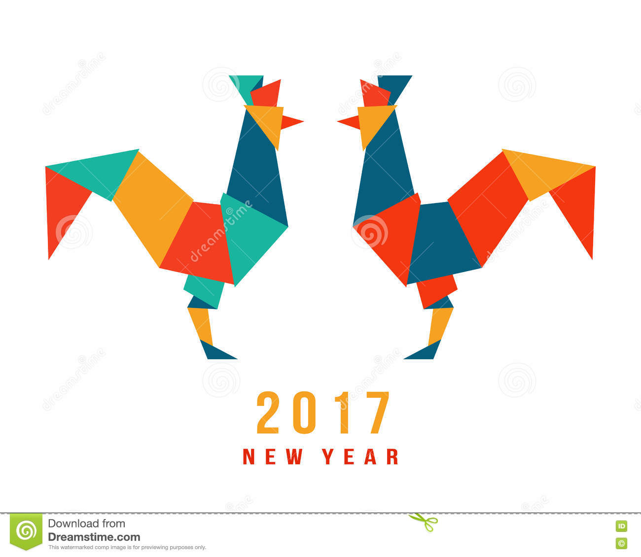 chinese new year of the rooster 2017