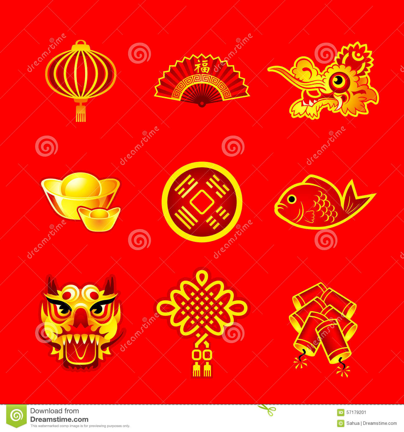 chinese new year symbols - Chinese New Year Symbols