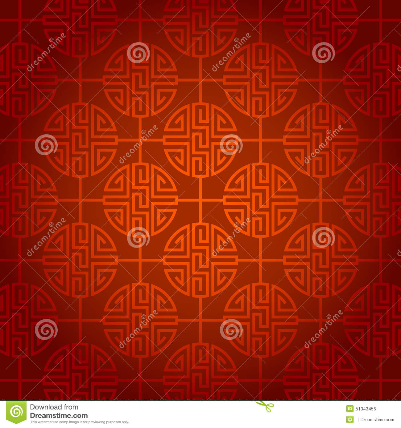 Chinese New Year Wallpaper Background Vector Design Stock Illustration Image 51343456