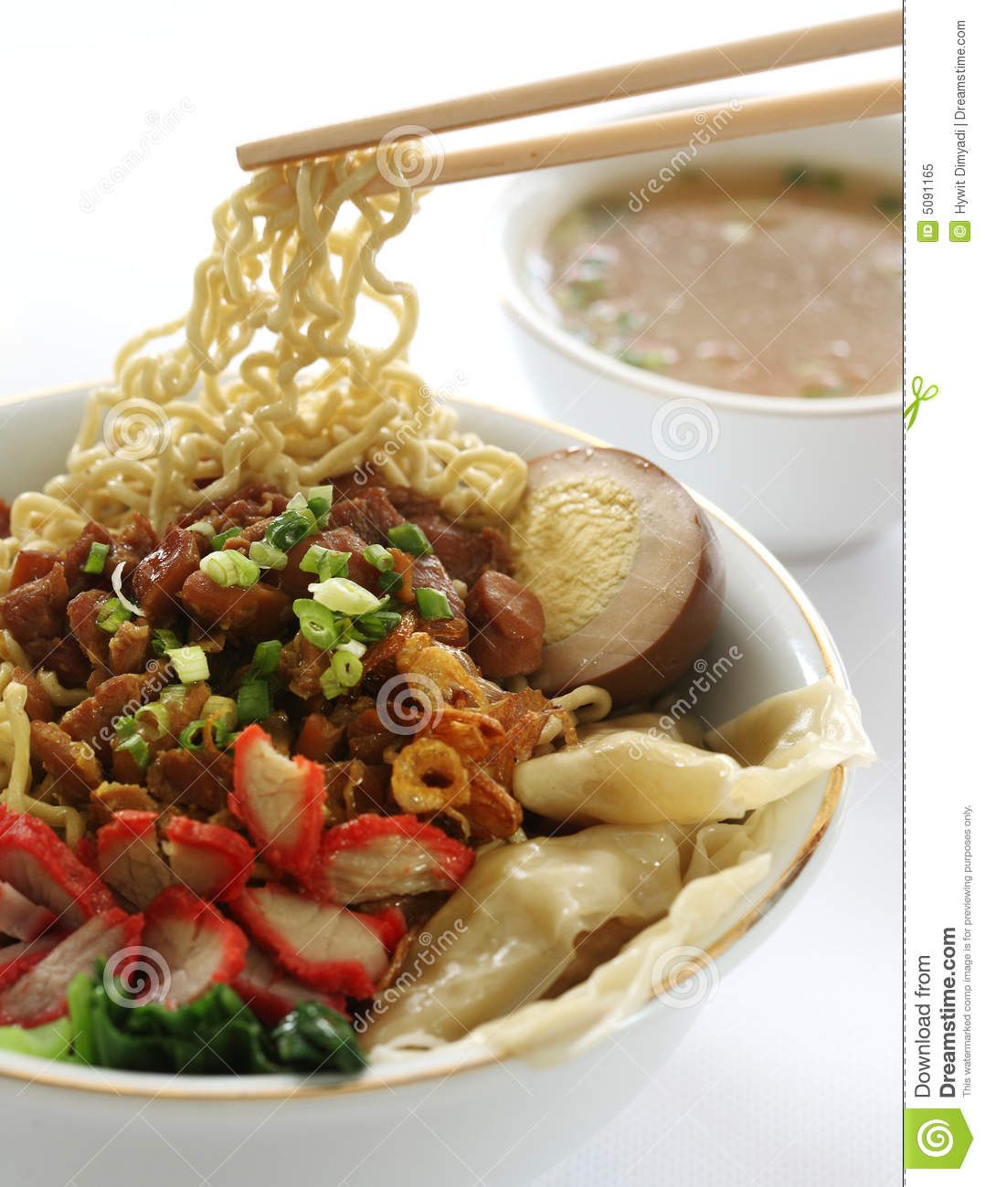 Chinese noodle soup royalty free stock photo image 5091165