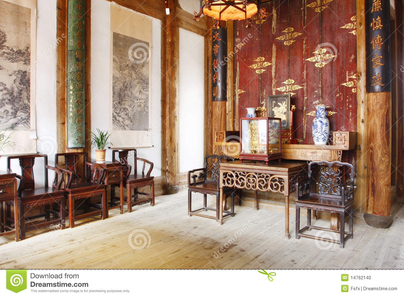 Chinese Old House Stock Photo Image Of Dwelling Floor