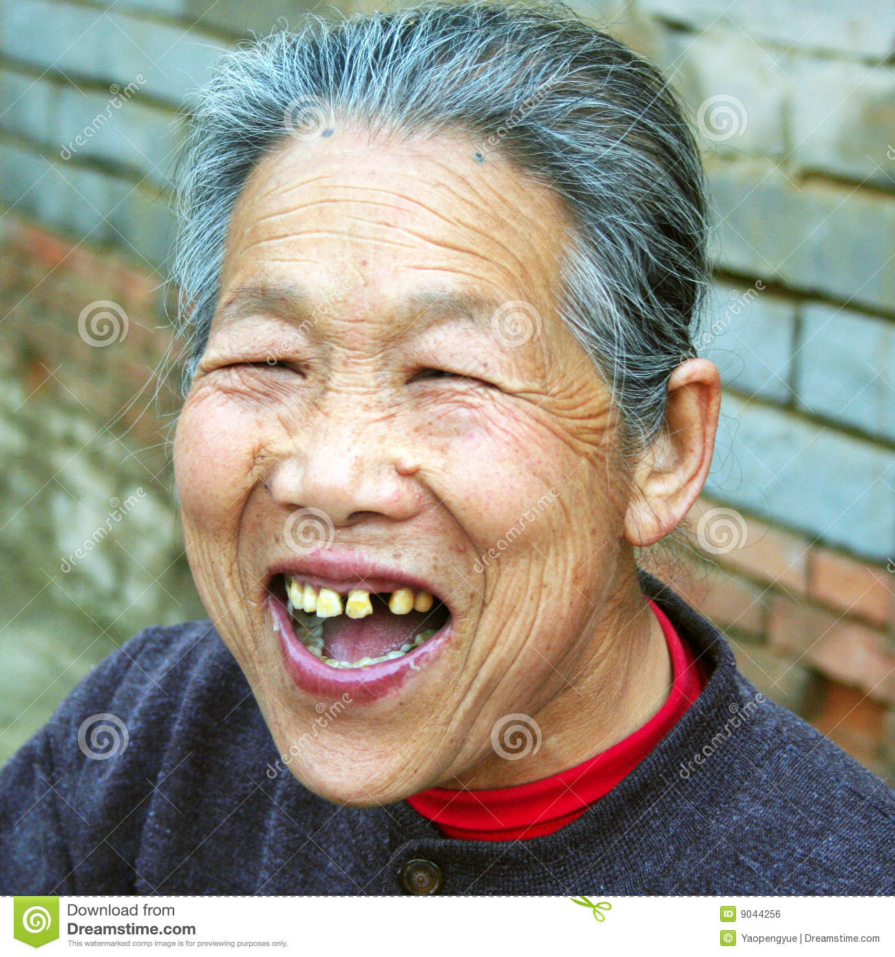 Chinese old woman royalty free stock image image 9044256
