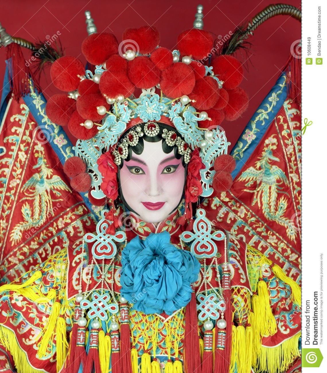 Chinese Opera Royalty Free Stock Images - Image: 10608449
