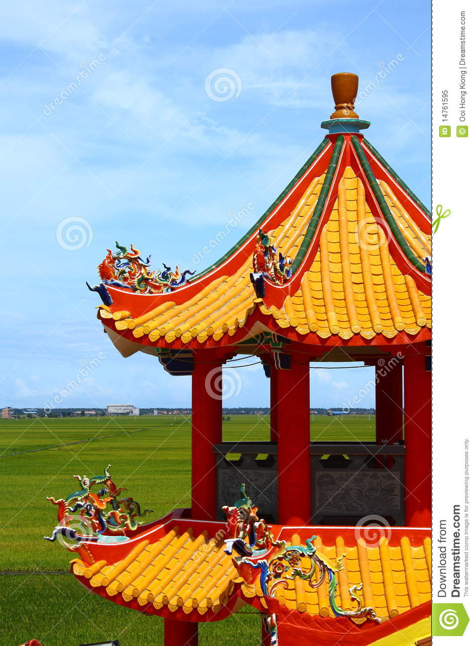 Chinese Pagoda Tower Royalty Free Stock Photo Image